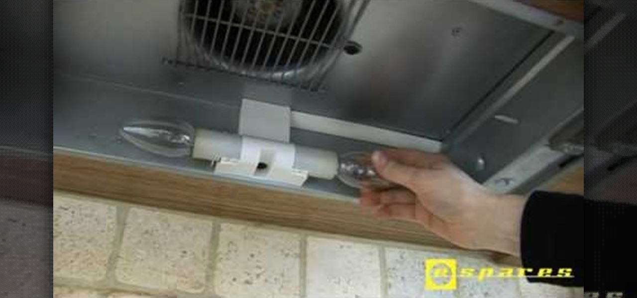 how to change light bulb in dacor range hood
