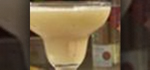 Make a frozen banana daiquiri