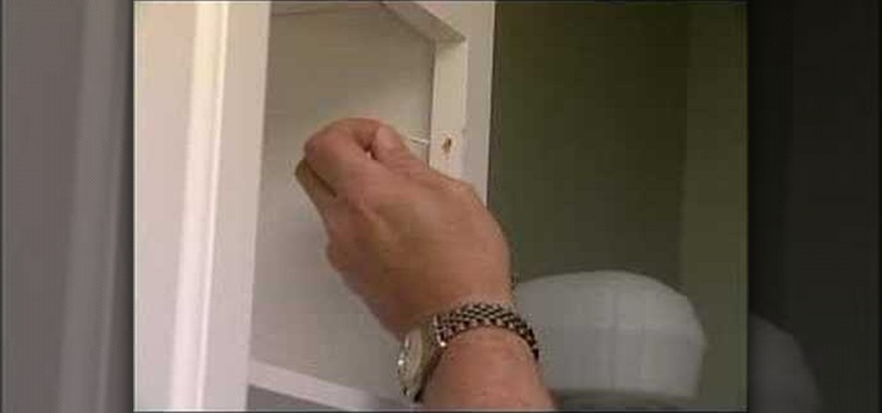 How to Fix a loose kitchen cabinet door Construction Repair