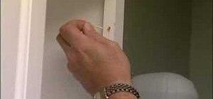 Fix a cabinet door