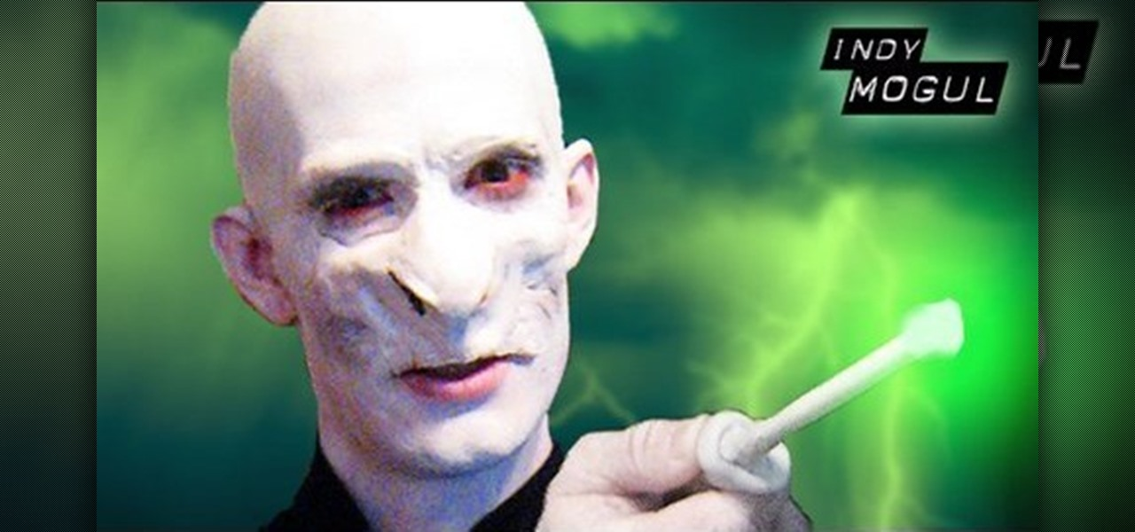 How to do professional quality voldemort from harry potter makeup how to do professional quality voldemort from harry potter makeup props sfx wonderhowto solutioingenieria Gallery