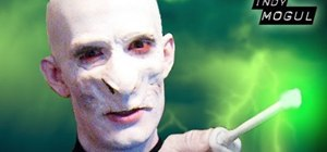 Do professional quality Voldemort from Harry Potter makeup