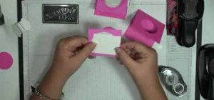 Make a sweet treat cup door with Stampin' Up!