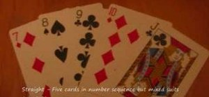 Calculate the probability of hands in poker