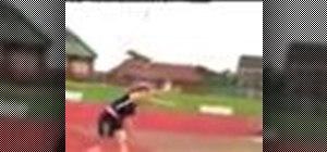 Improve your javelin throw