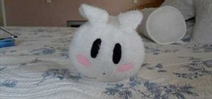 Sew an anime inspired rabbit pillow