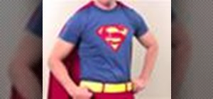Make a Superman costume with Gianny L