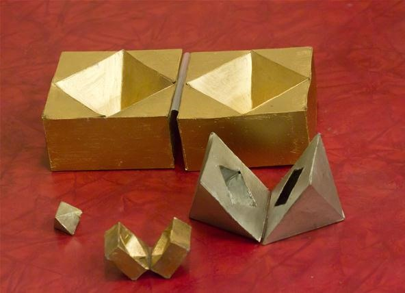 How to Make Nested Cube and Octahedron Boxes