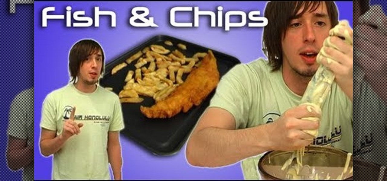 how to make fish chips
