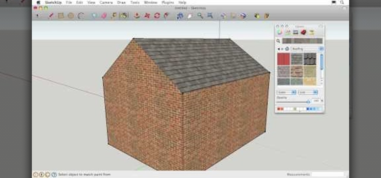 How to Use Google SketchUp if you've never used 3-D