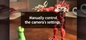 Create single frame animation