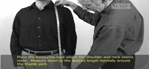 Measure your jacket length