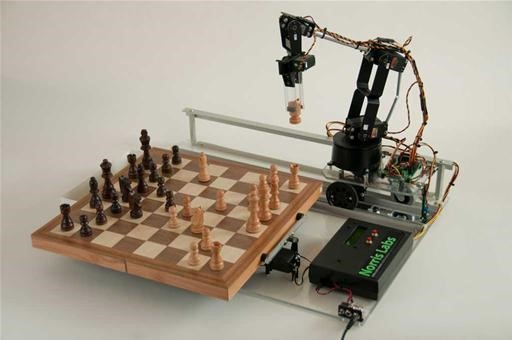 Play Robot Chess Via Twitter