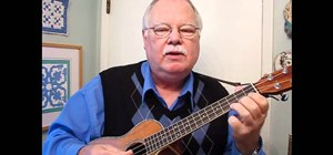 Play a C major chromatic scale warm-up exercise on the ukulele