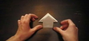 Origami an Amanda note fold