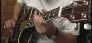 "Play ""Setting Me Up"" by Dire Straits on guitar"