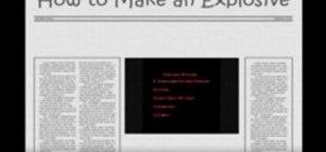 Make flash powder explosives