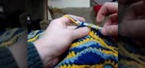 Crochet using two threads as one