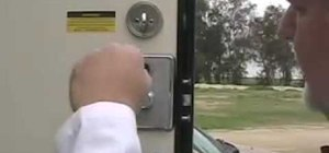 Replace an RV entry lock