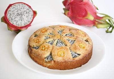 RECIPE: Dragonfruit Cake