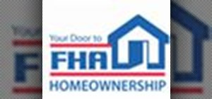 Get an FHA loan