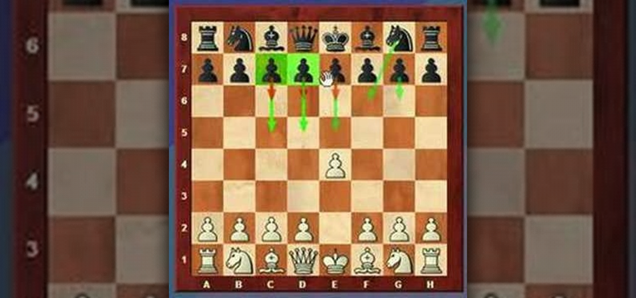 How to Use the most common first move in master chess games ...