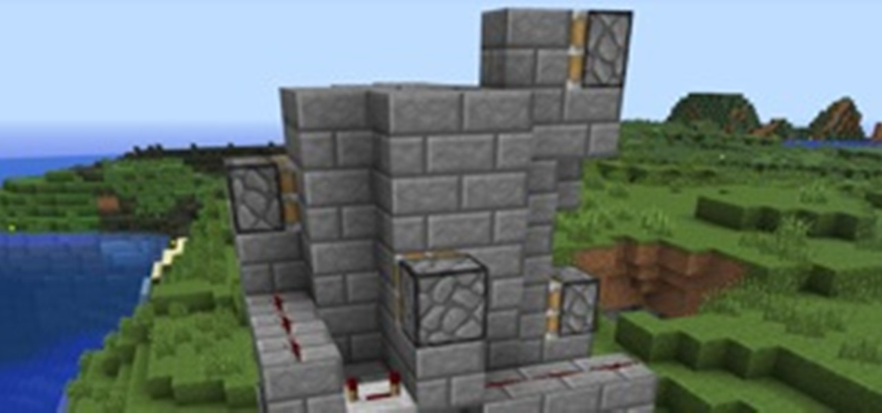 The Fastest Way To The Top How To Build A Redstone Elevator In Minecraft Minecraft Wonderhowto