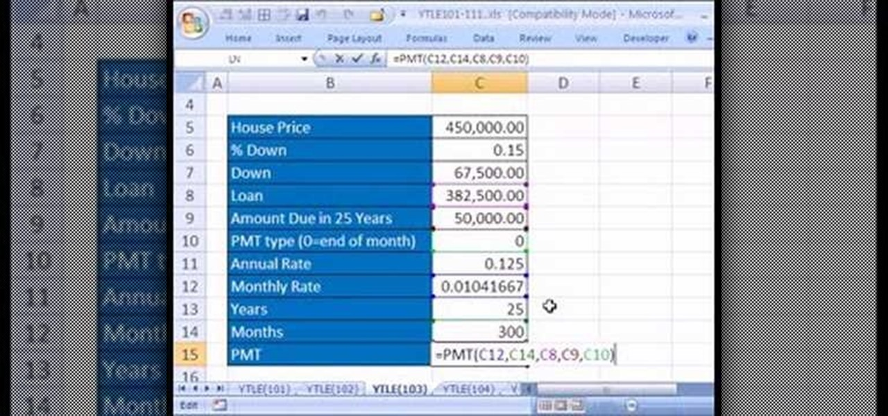how to use goal seek in excel 2017