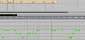 Delete notes from tracks using Pro Tools