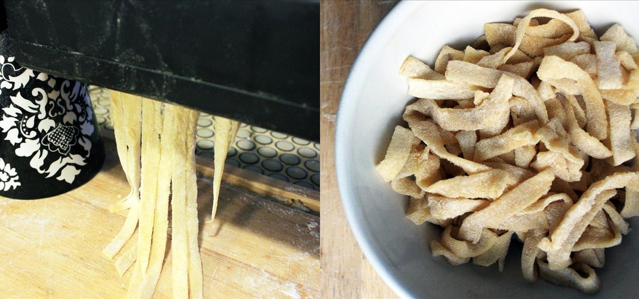 No Pasta Maker? Use Your Paper Shredder for Homemade Noodles Instead