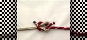 Tie a Reef (Square) Knot with a knot tying animation