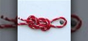 Tie a Figure 8 Follow Through knot for climbing