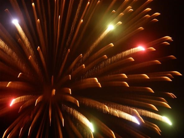 "Fireworks Photography Challenge: ""Delightful Explosion"""