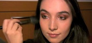 Create a bronze and copper late summer makeup look (inspired by a fox)