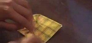 Origami a cicada easily
