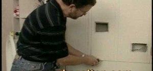 Install a wall niche