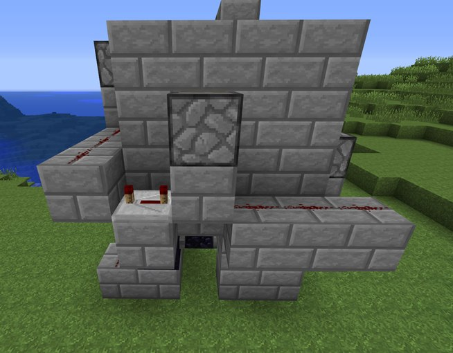 Fastest way to the top how to build a redstone elevator in minecraft