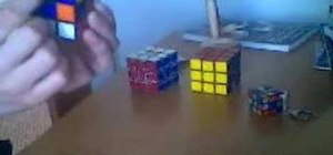 "Solve a Rubik's Cube with the ""green cross"" method"