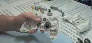 Reassemble an XBOX 360 controller