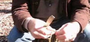 Make dogbane cordage or Indian hemp