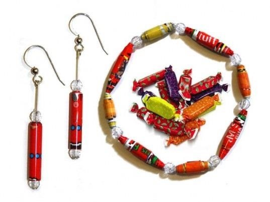 Candy Wrapper Jewelry Candy Wrapper Crafts You