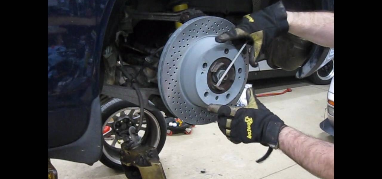 How To Change The Rear Brakes On A Porsche 996 Auto