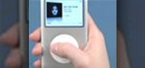 Adjust the volume on your iPod Classic and iPod Nano