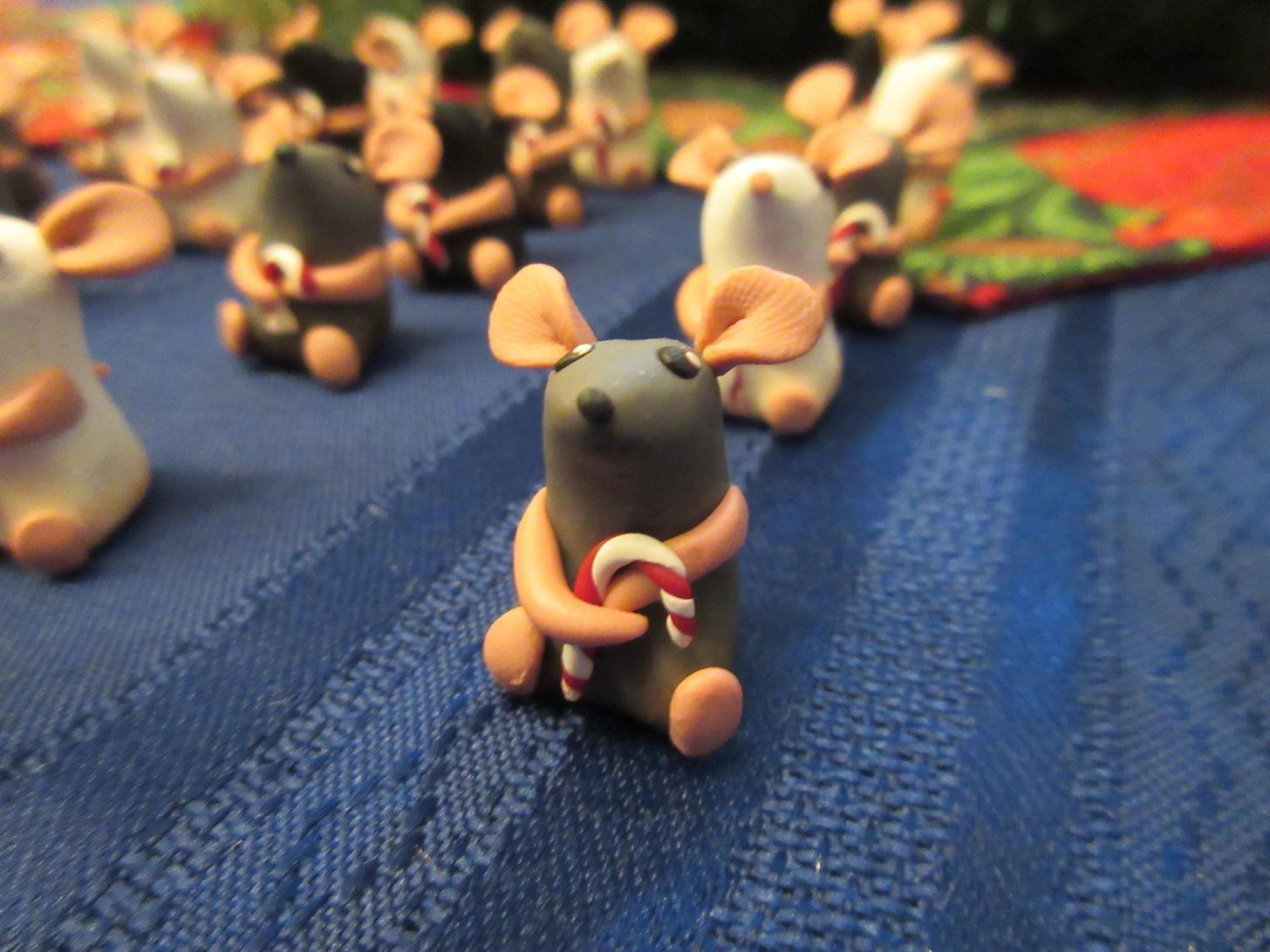 How to Make an Army of Adorable Clay Mice