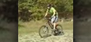 Ride a mountain bike out out on the trails