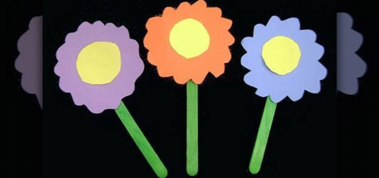 How to make simple paper flowers with your kids kids activities how to make simple paper flowers with your kids kids activities wonderhowto mightylinksfo Images