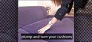 Make a sofa look as good as new