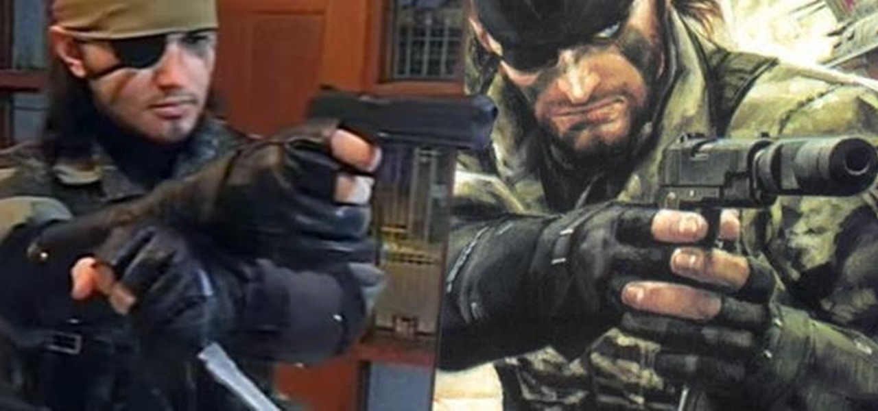 Recreate Snake Eater's Costume from Metal Gear Solid 3: Snake Eater