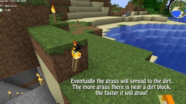 how to grow trees underground in minecraft
