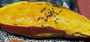 Make sweet potato (Japanese sweet potato dessert)